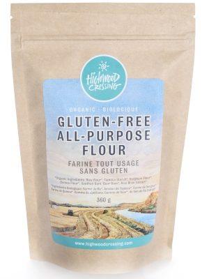 Organic gluten free flour