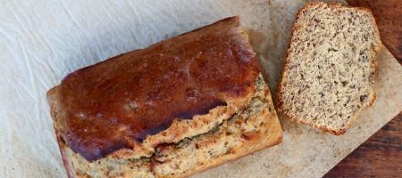 Organic Gluten Free Banana Bread